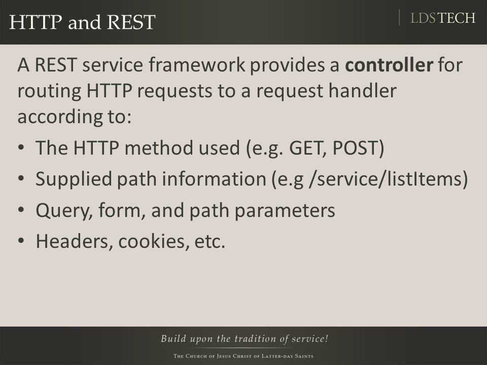 The HTTP method used (e.g. GET, POST)