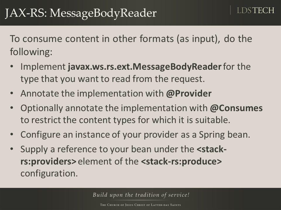 JAX-RS: MessageBodyReader