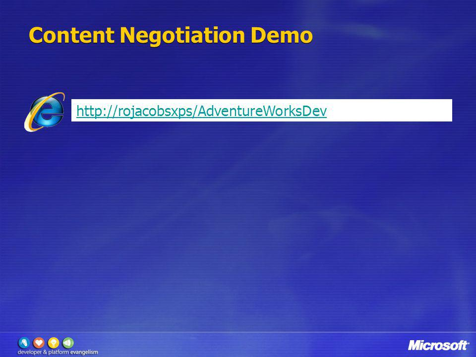 Content Negotiation Demo