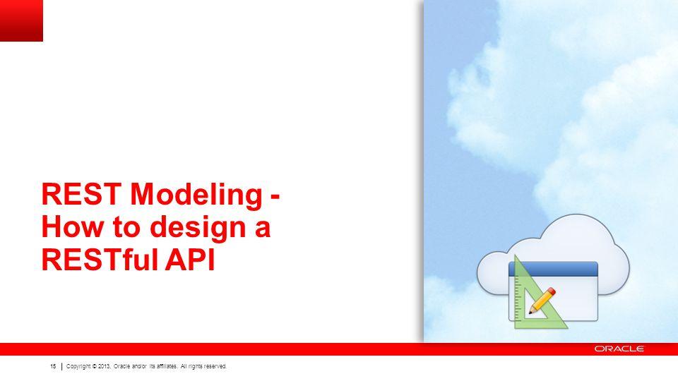 REST Modeling - How to design a RESTful API