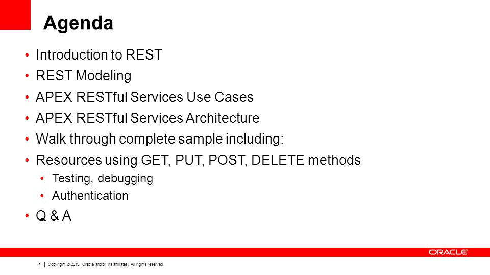 Agenda Introduction to REST REST Modeling