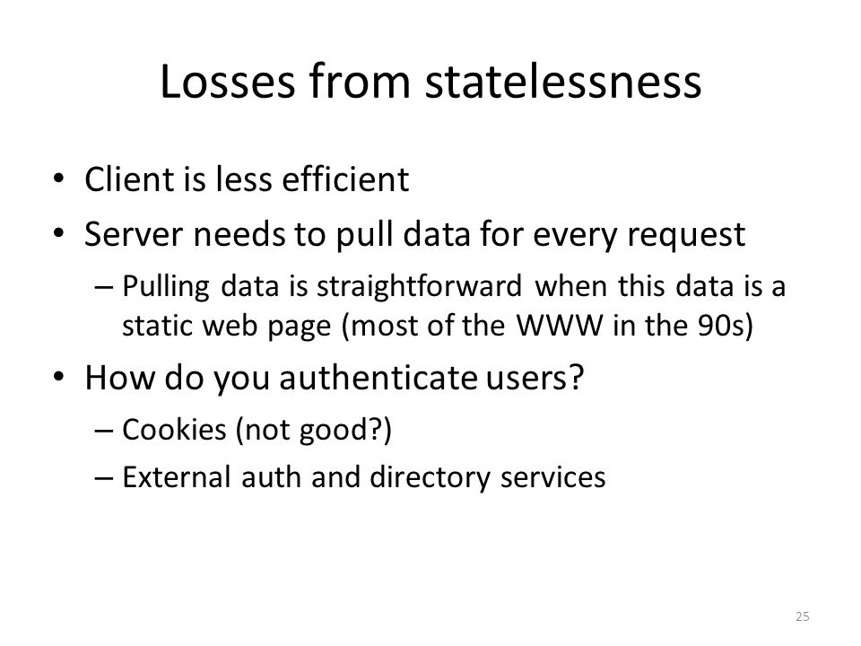 Losses from statelessness