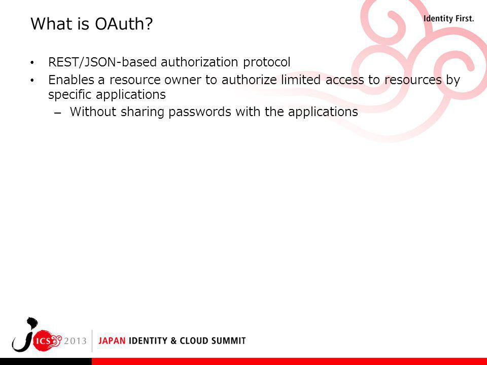 What is OAuth REST/JSON-based authorization protocol