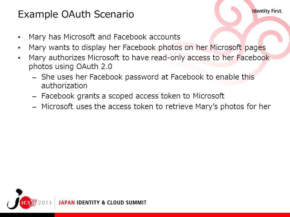 Example OAuth Scenario