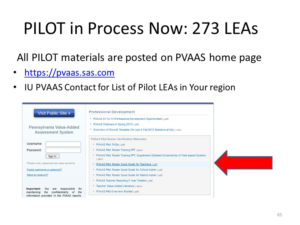 PILOT in Process Now: 273 LEAs