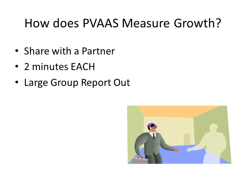 How does PVAAS Measure Growth