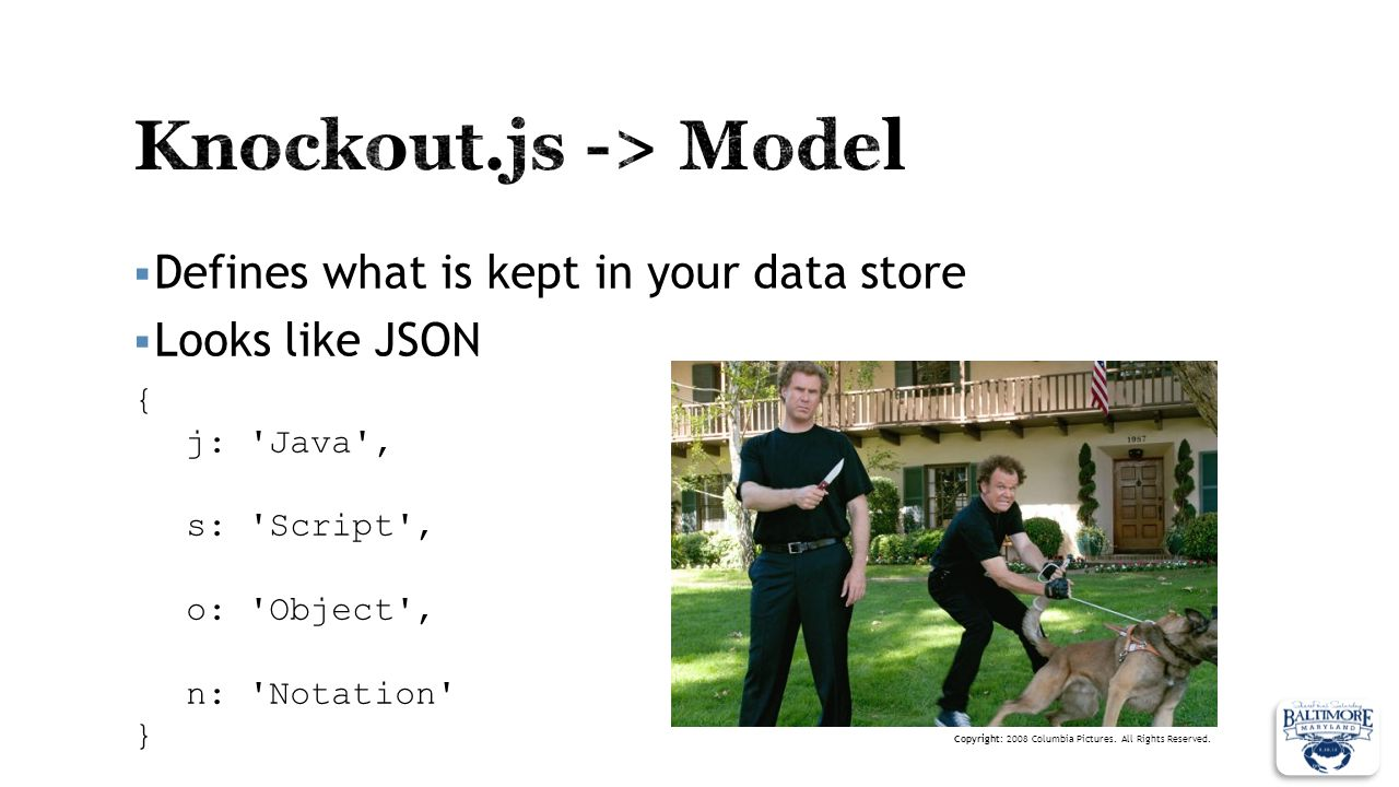 Knockout.js -> Model