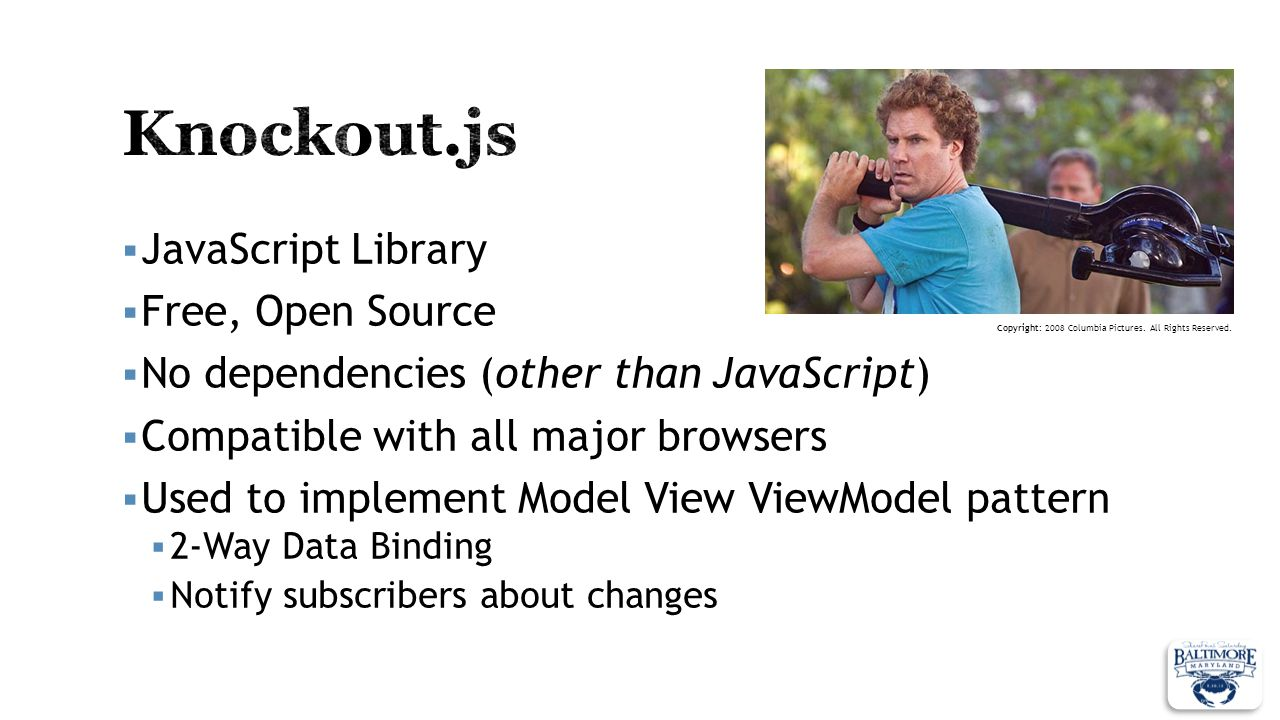 Knockout.js JavaScript Library Free, Open Source