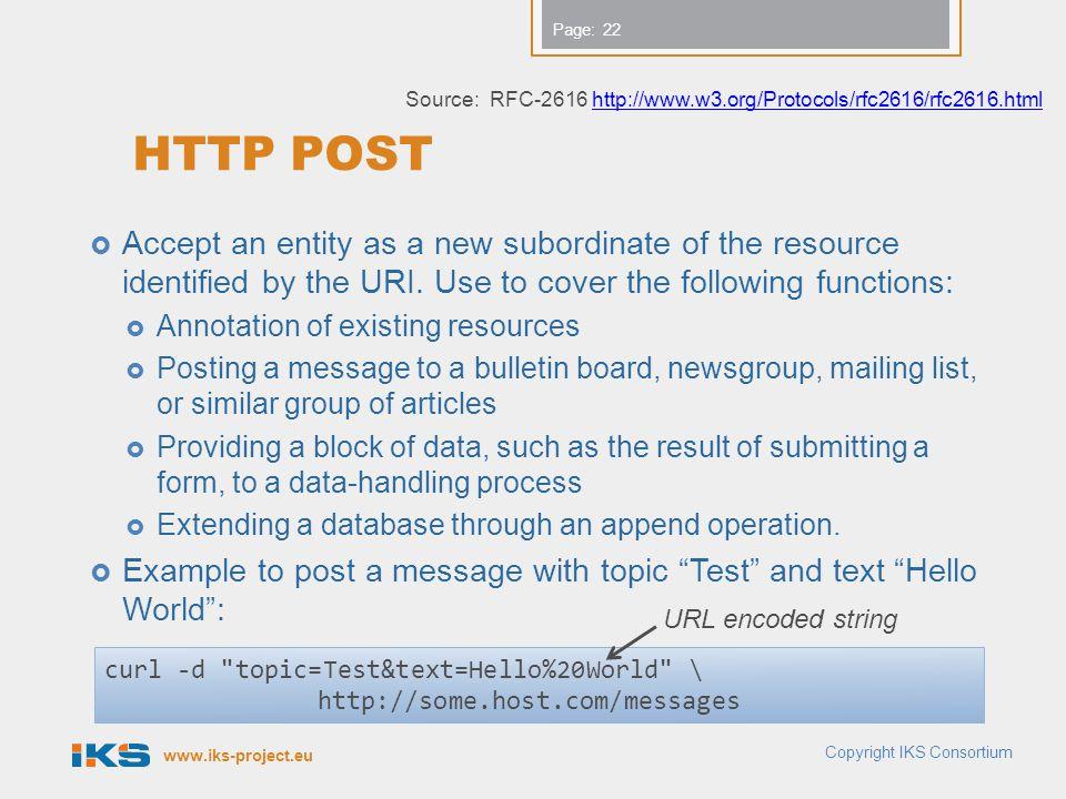 Source: RFC-2616 http://www.w3.org/Protocols/rfc2616/rfc2616.html