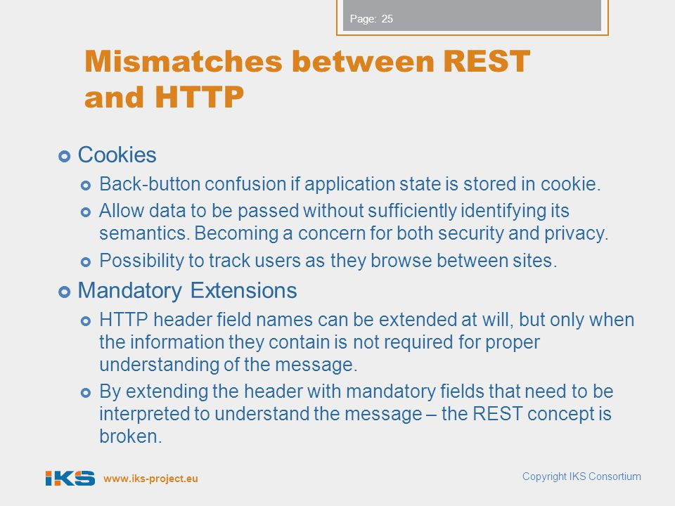 Mismatches between REST and HTTP