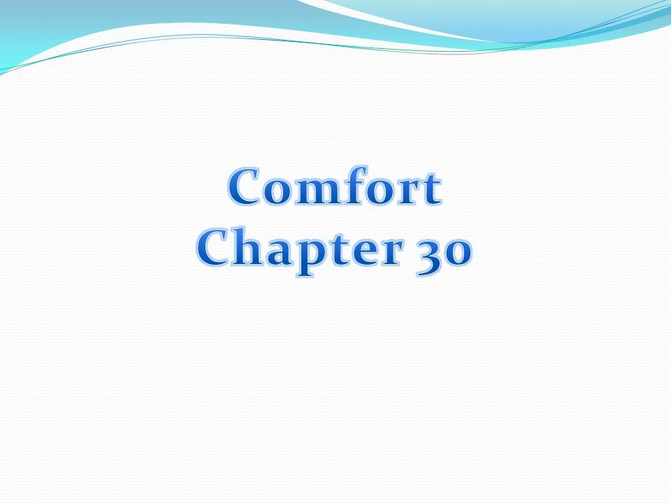 Comfort Chapter 30