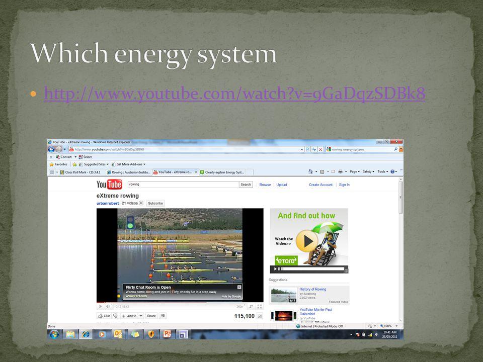 Which energy system http://www.youtube.com/watch v=9GaDqzSDBk8