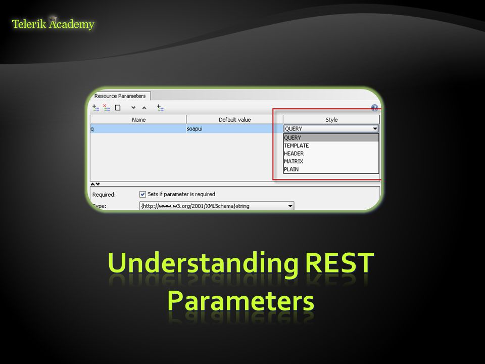 Understanding REST Parameters