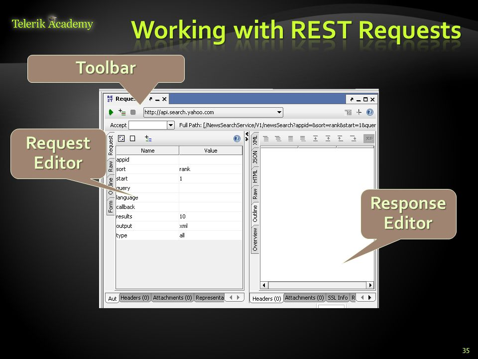 Working with REST Requests