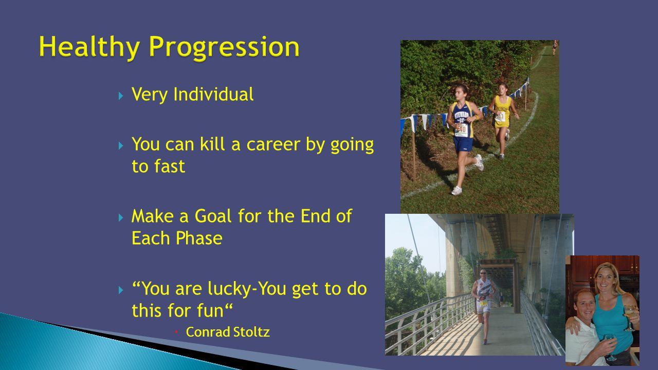 Healthy Progression Very Individual