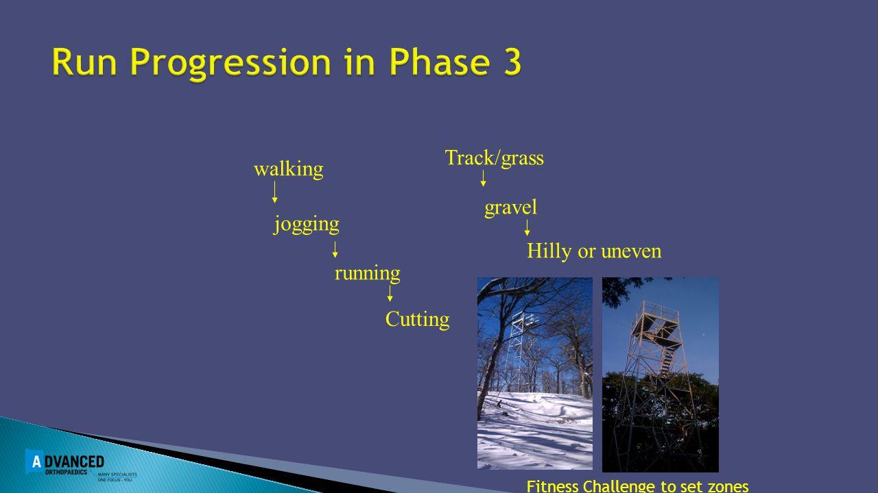 Run Progression in Phase 3