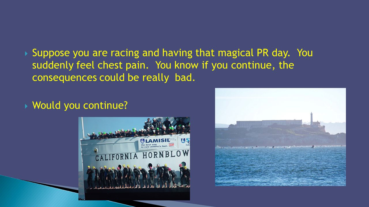 Suppose you are racing and having that magical PR day