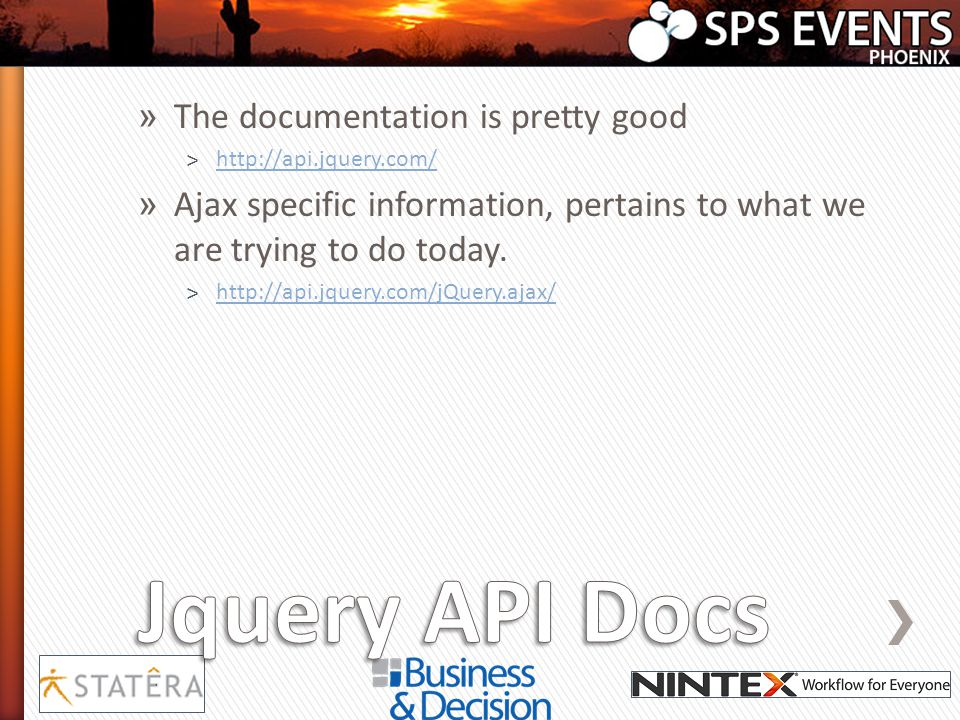 Jquery API Docs The documentation is pretty good