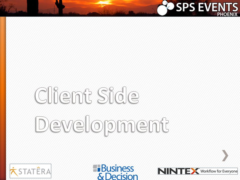 Client Side Development
