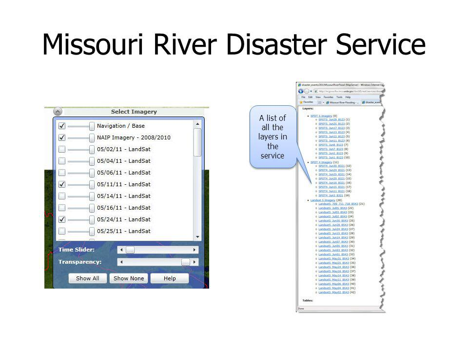 Missouri River Disaster Service