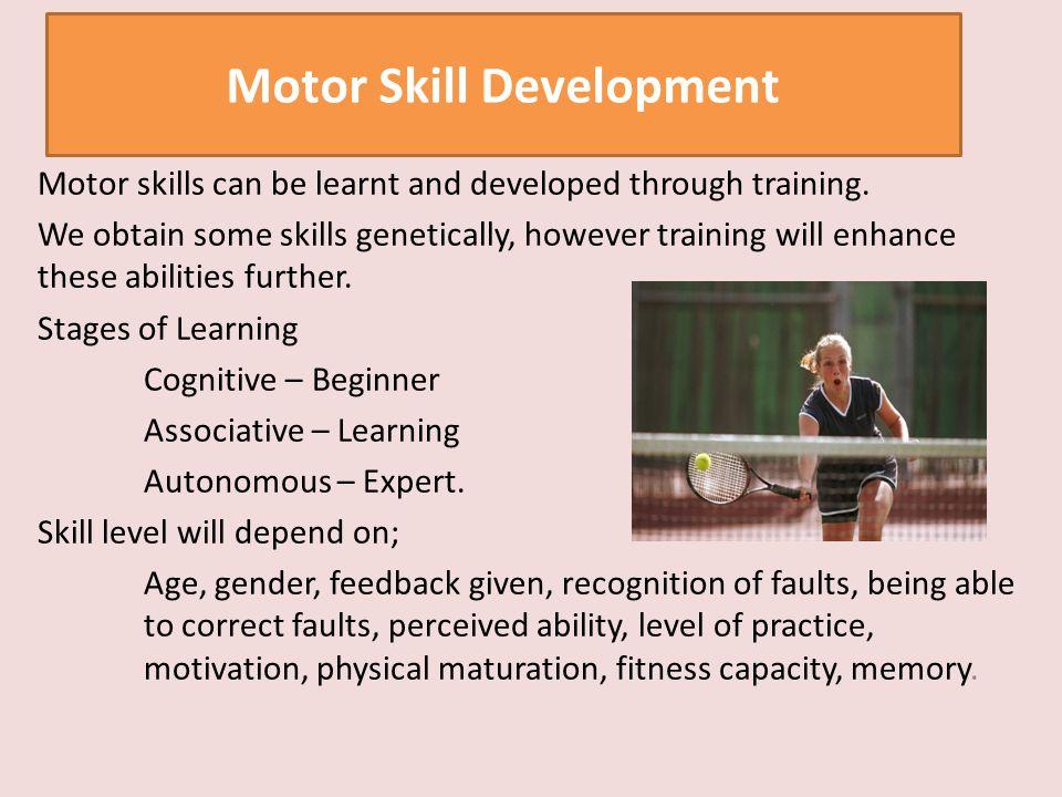 Motor Skill Development