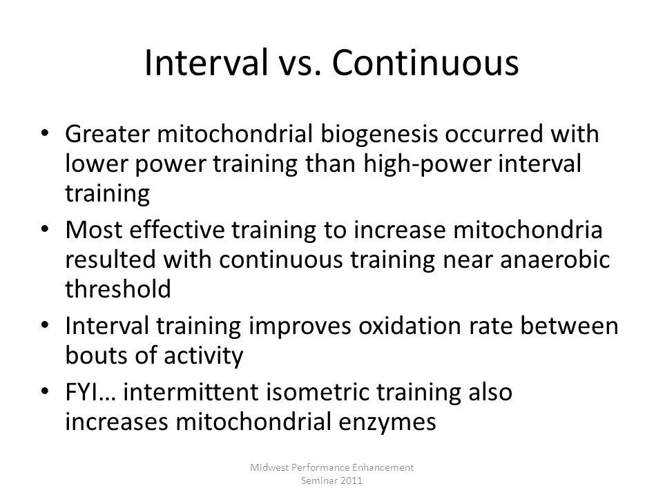 Interval vs. Continuous