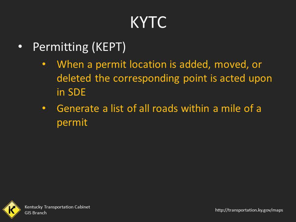 KYTC Permitting (KEPT)