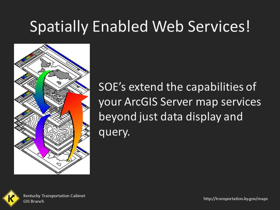 Spatially Enabled Web Services!