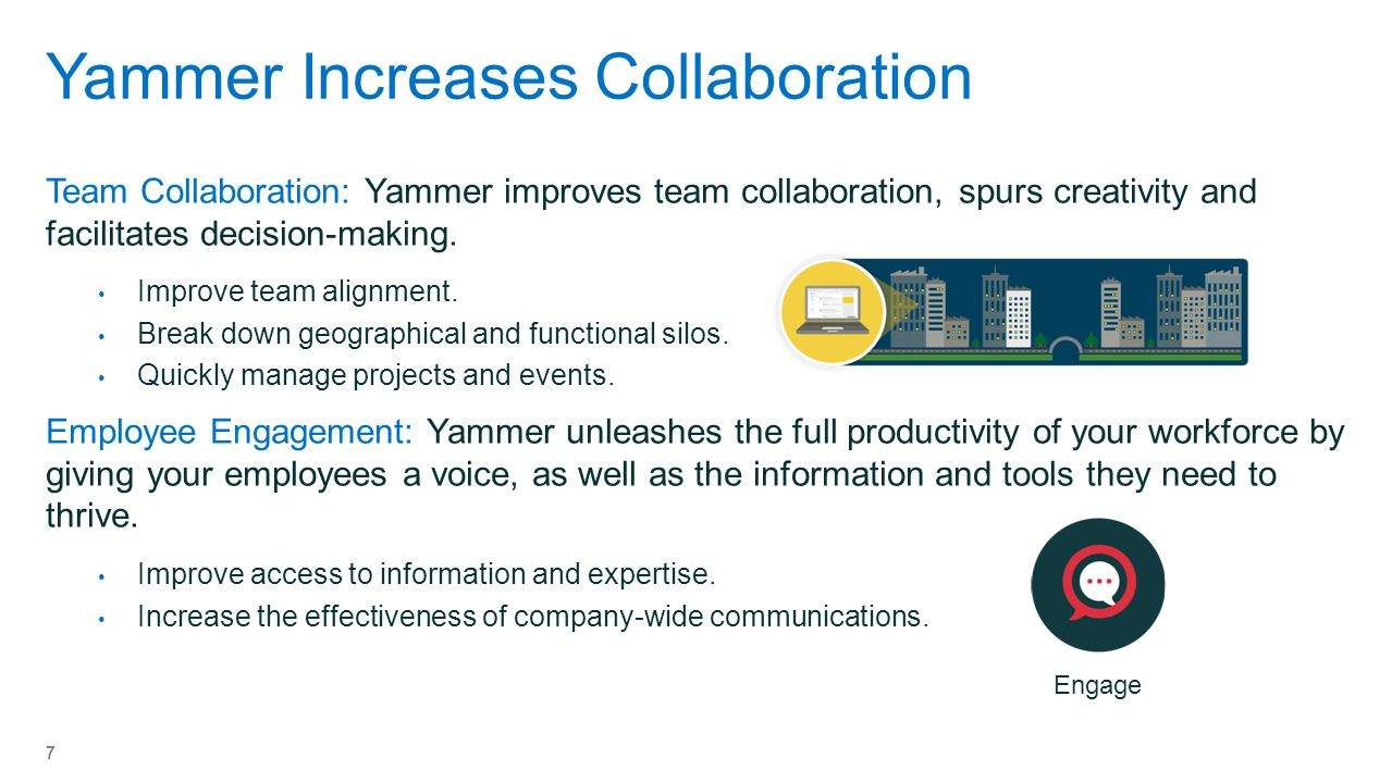 Yammer Increases Collaboration