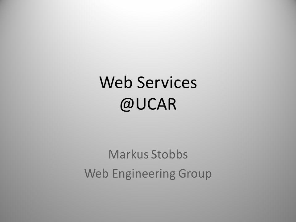 Markus Stobbs Web Engineering Group