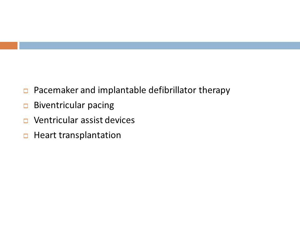 Pacemaker and implantable defibrillator therapy