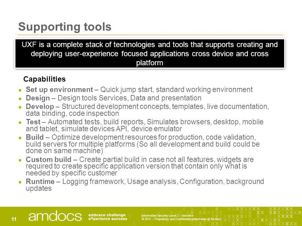 Supporting tools
