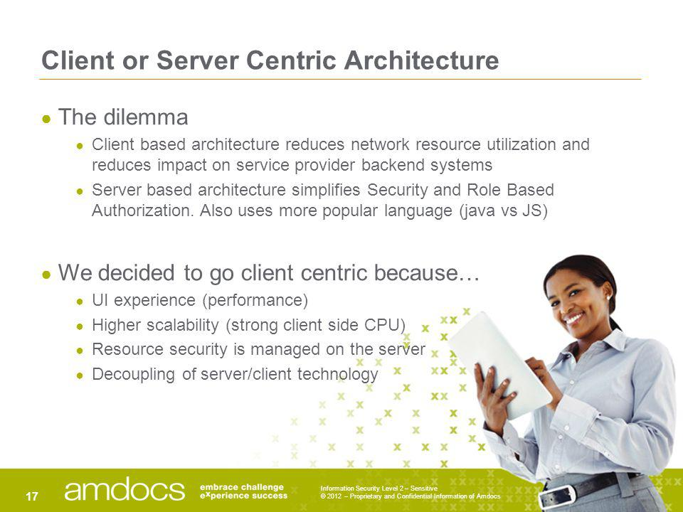 Client or Server Centric Architecture