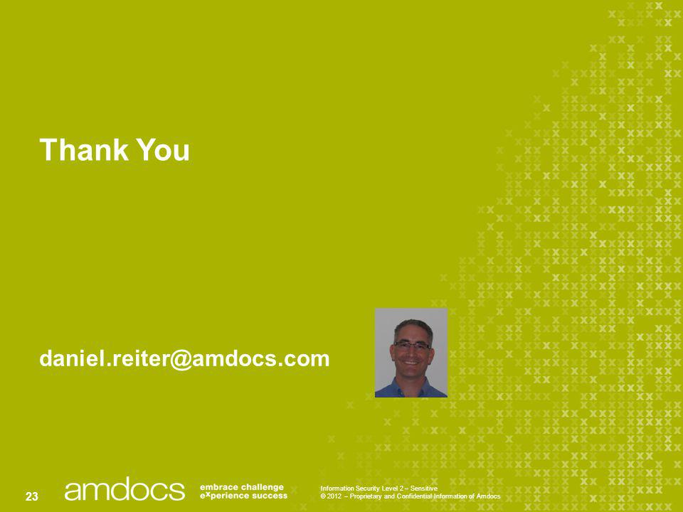 Thank You daniel.reiter@amdocs.com