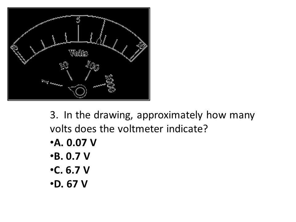 3. In the drawing, approximately how many