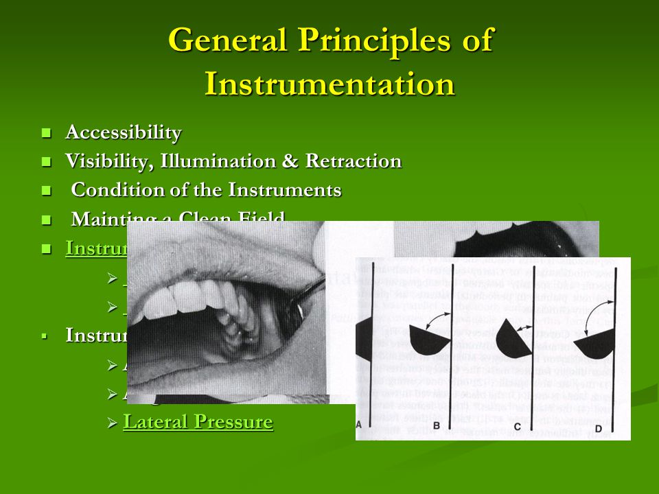 General Principles of Instrumentation