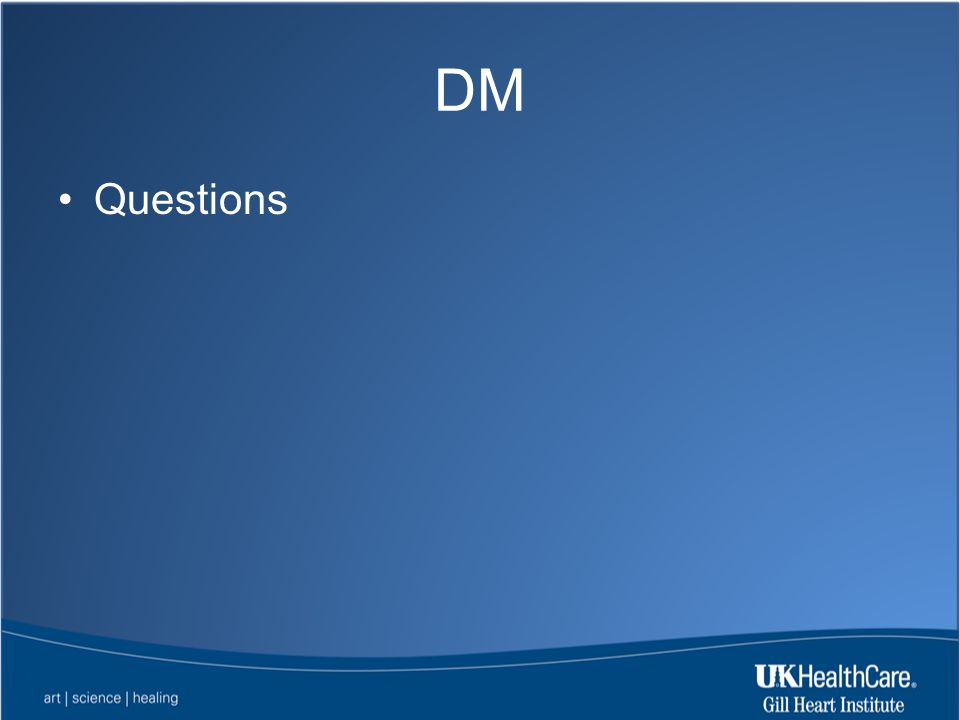 DM Questions
