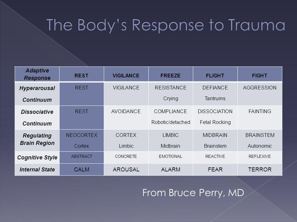 The Body's Response to Trauma