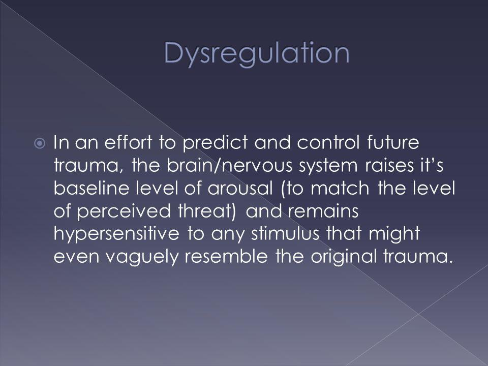 Dysregulation