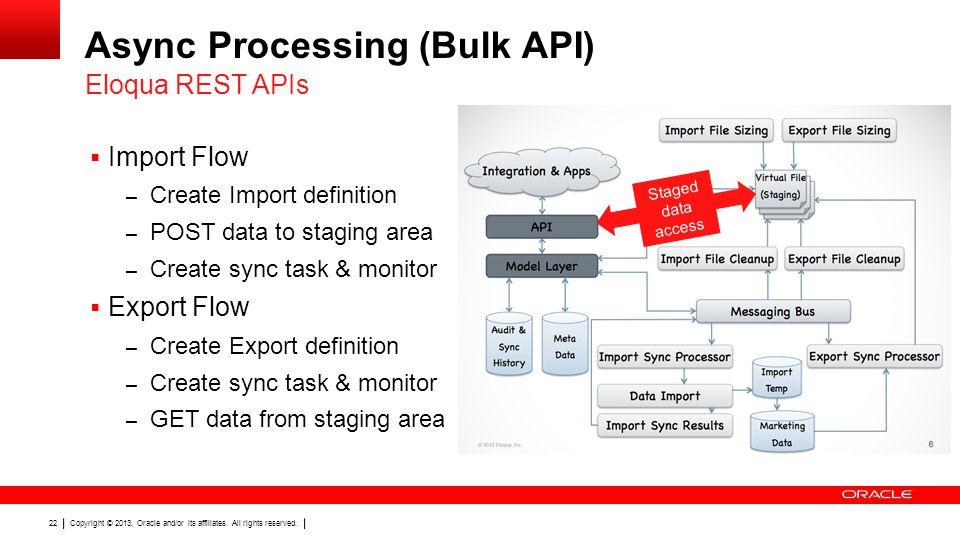 Async Processing (Bulk API)