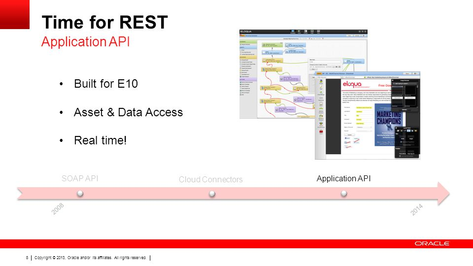 Time for REST Application API Built for E10 Asset & Data Access