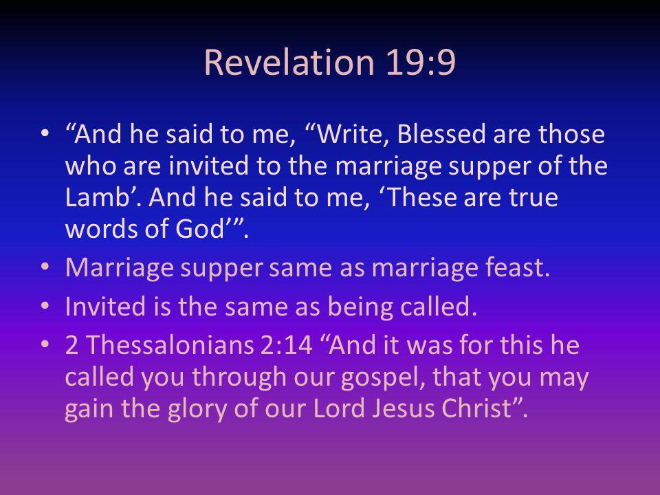 Revelation 19:9