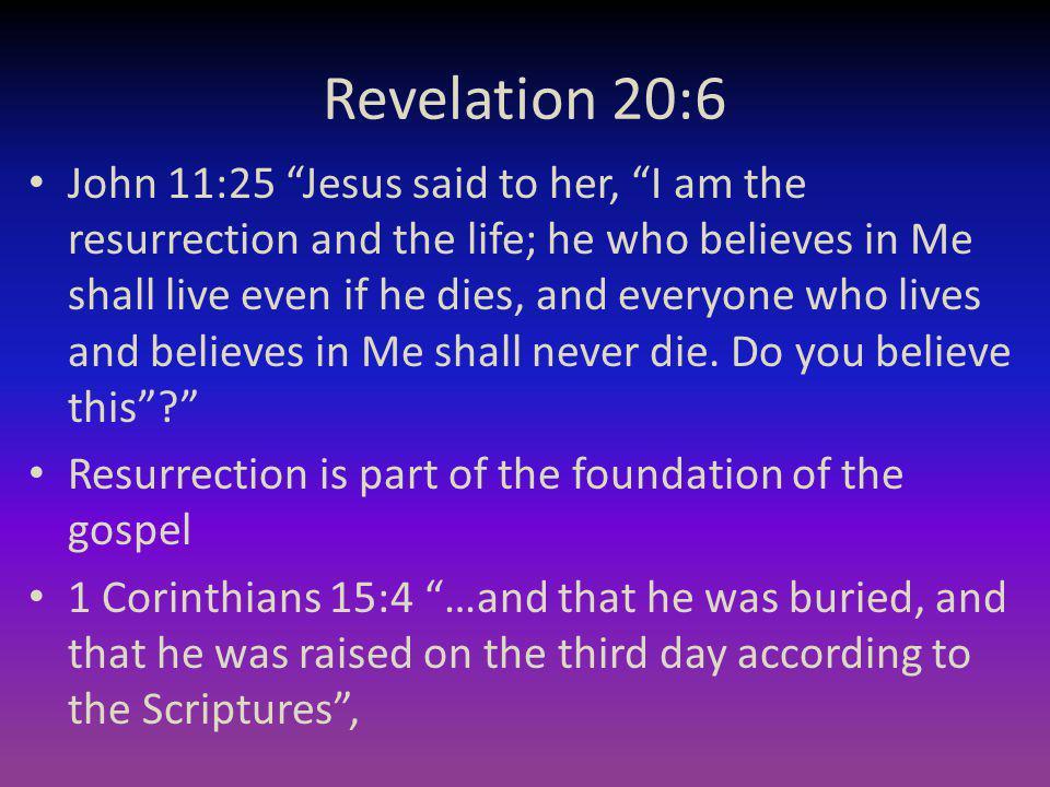 Revelation 20:6