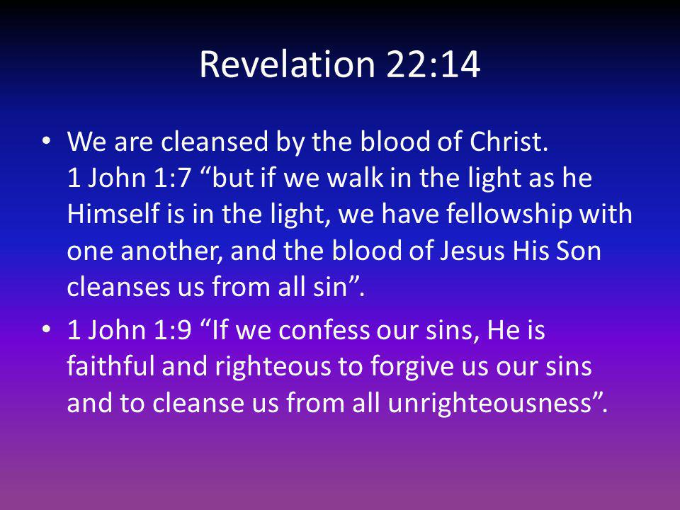 Revelation 22:14