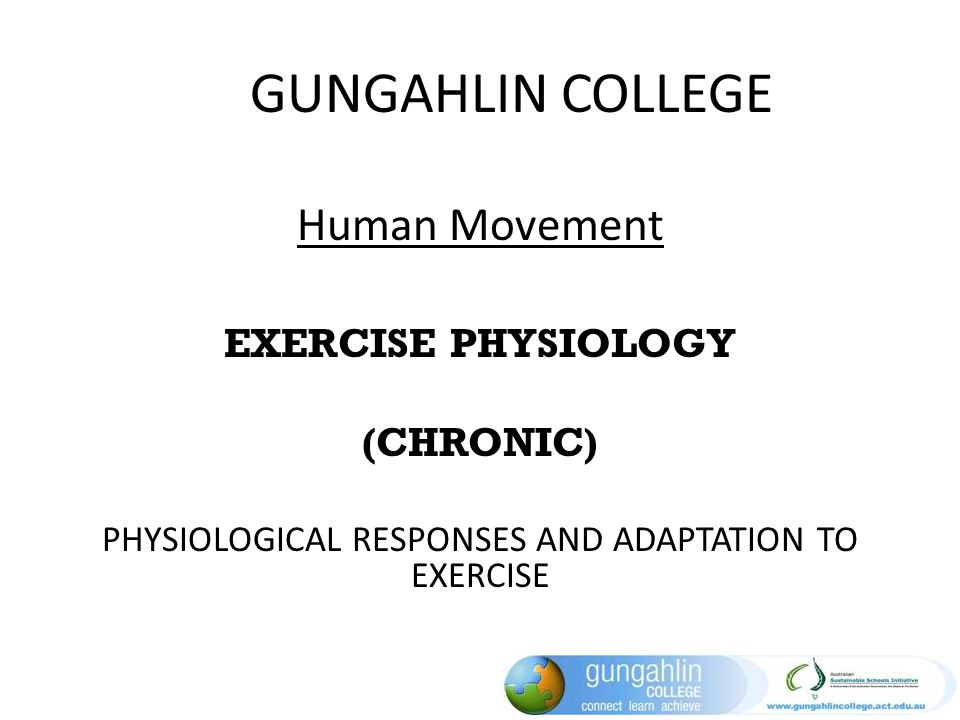physiologic responses to long term exercise Physiologic responses to long-term ventilation  which result in augmented cardiac function and greater tolerance to exercise  long-term care.