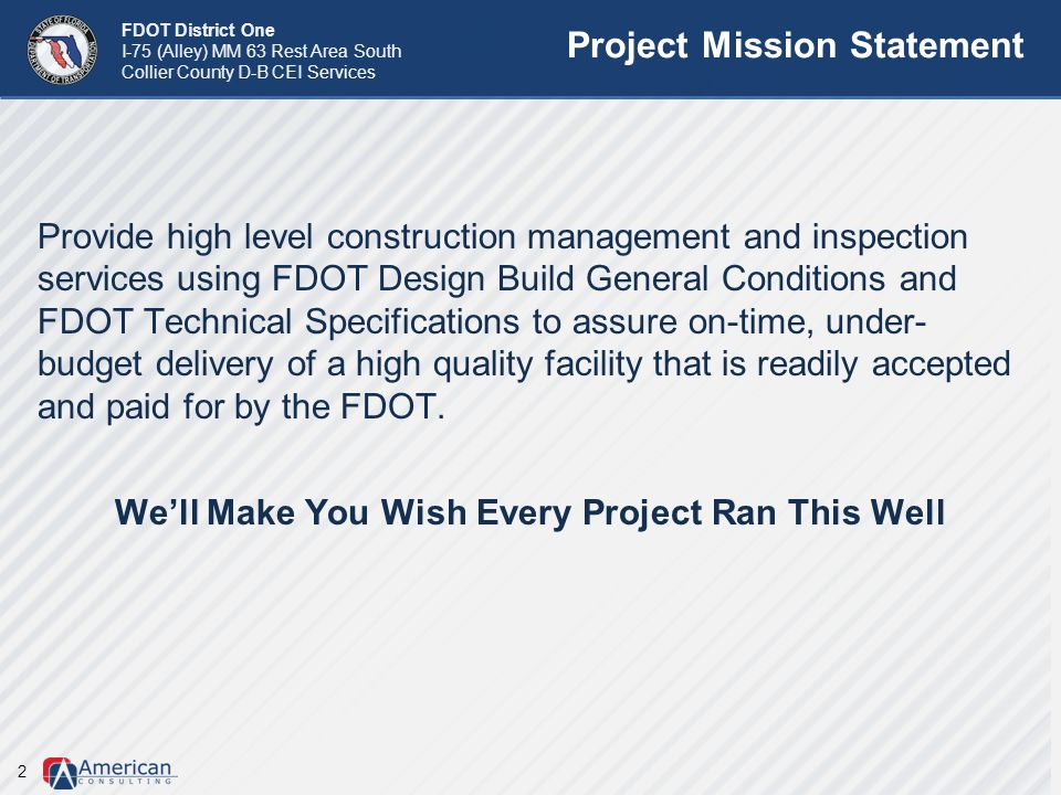Project Mission Statement