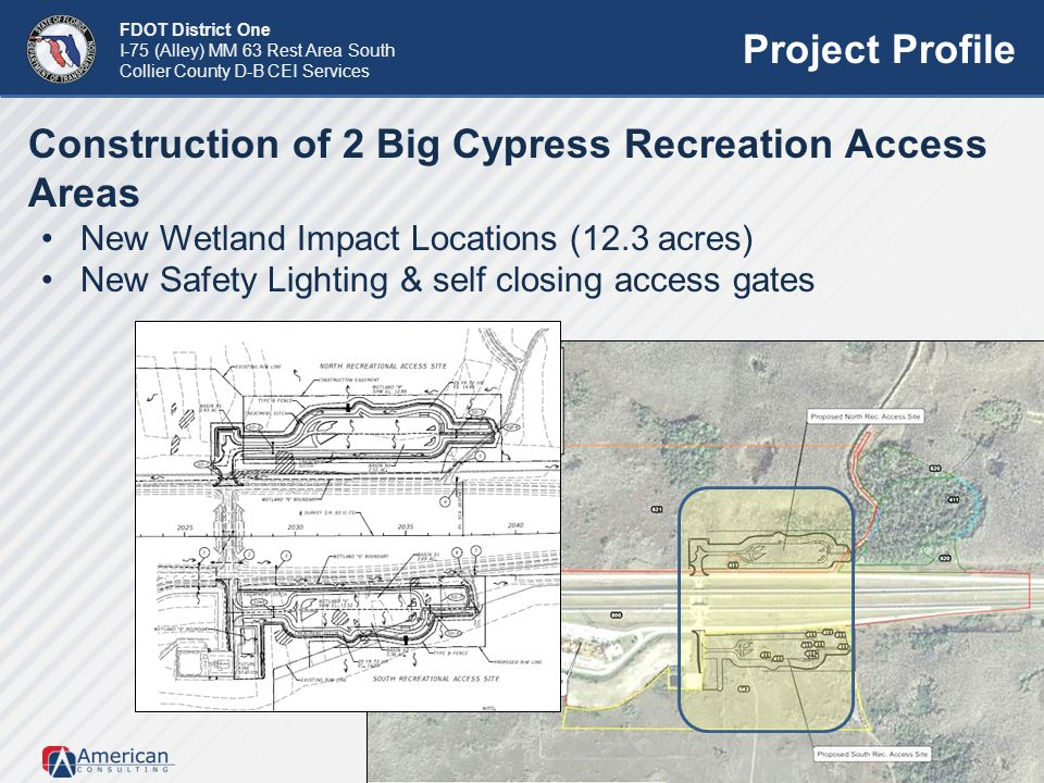 Construction of 2 Big Cypress Recreation Access Areas