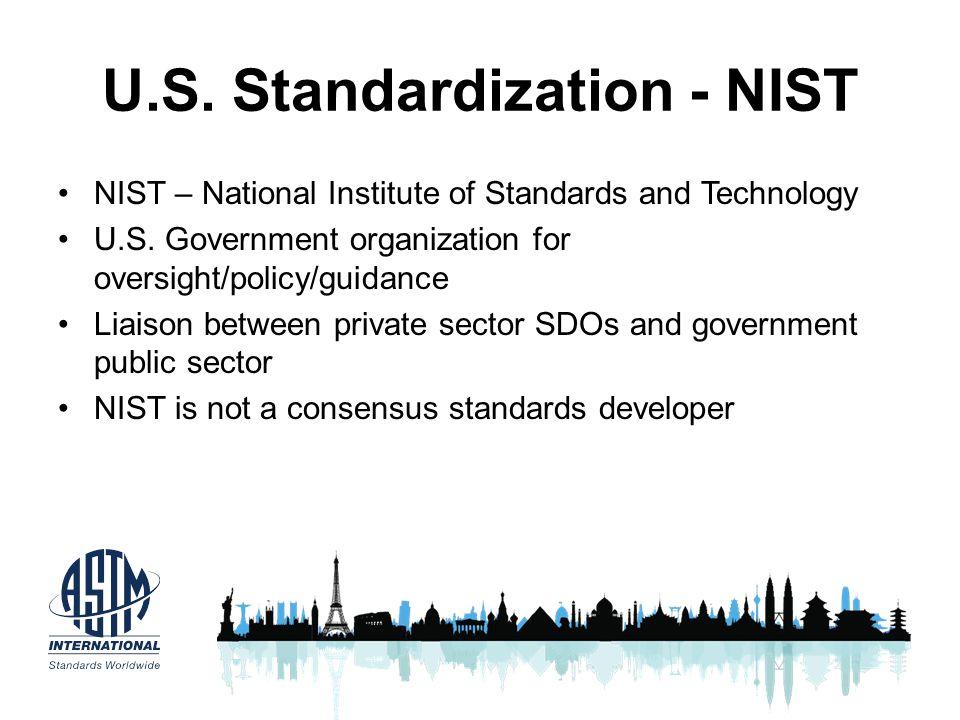 U.S. Standardization - NIST