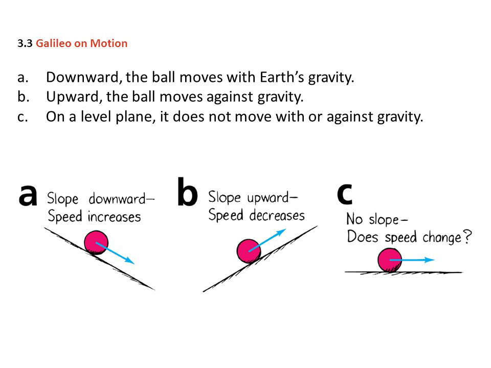 Downward, the ball moves with Earth's gravity.