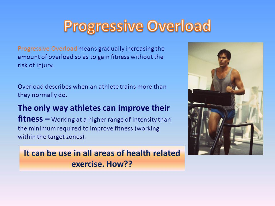 It can be use in all areas of health related exercise. How